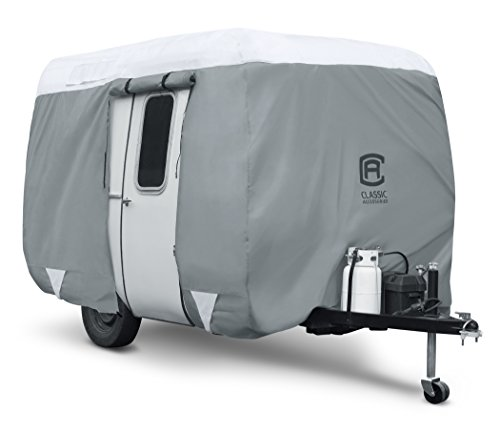 Classic Accessories PolyPro 3 Molded Fiberglass Camping Trailer Cover, 13'1-16' Long