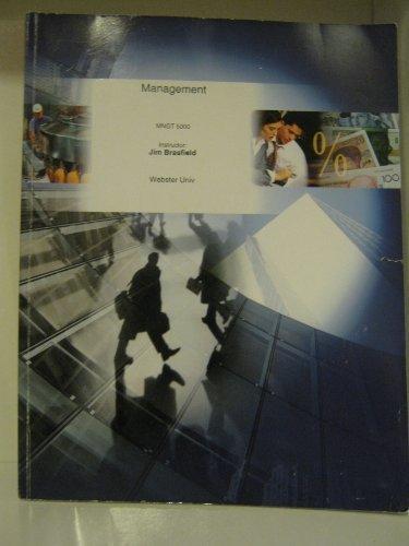 MNGT 5000 (MANAGEMENT)
