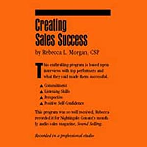 Creating Sales Success Speech