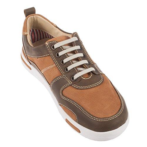Chatham , Herren Sneaker braun braun Einheitsgröße
