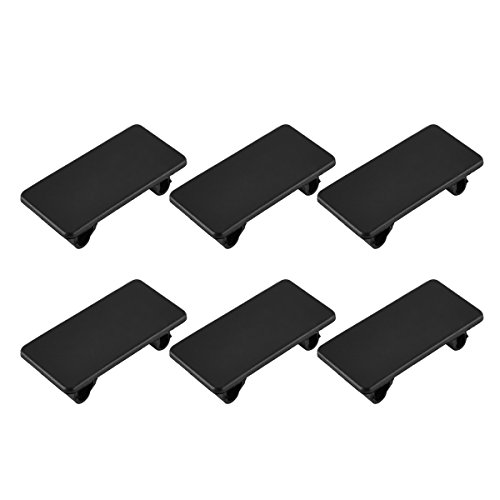 Rocker Switch Panel Cover, AutoEC Automotive Toggle Switch Hole Cover for Empty Slot, 6 pcs Hole Rocker Panel Cover Rocker Switch Bracket Filler Plug Blanking Cover