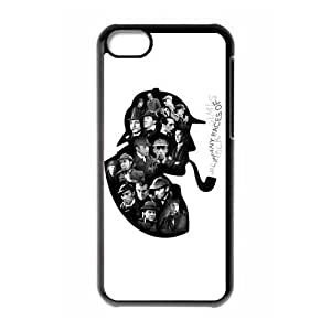Sherlock Holmes Case for iphone 5c iphone 5c - Custom Your Own Hard Cover Case BC2090