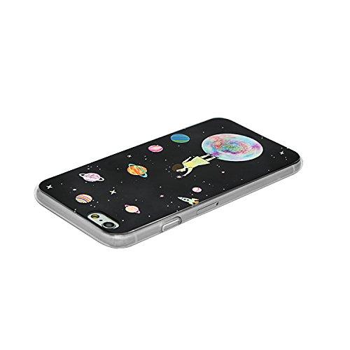 Sunroyal TPU Cáscara iPhone 5 se 5s Funda Silicona de Gel Ultra Delgado Carcasa [Anti-Arañazos] Case Cover Flexible Bumper Parachoques Funda [Anti-golpes] Smartphone Accesorios Caja del Teléfono para  A-07