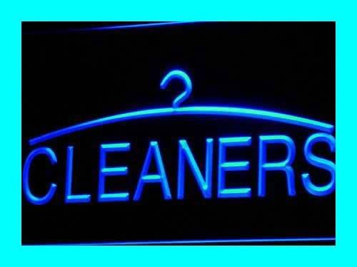 Cleaners Dry Cleaning Laundromat LED Sign Neon Light Sign Display i390-b(c)