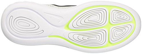 Hommes Nike De Course Noir blanc Cass 8 Lunarglide Chaussures Blanc qZFPUZrE1