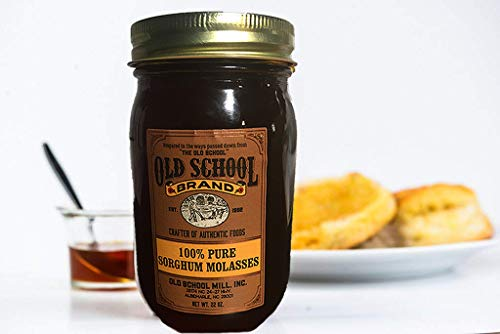 Old School Brand 100% Pure Sorghum Molasses 22 ounces - No Additives or Preservatives - 100% Pure and Natural by Old School Brand (Image #2)