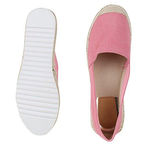 napoli-fashion - Alpargata Mujer Rosa