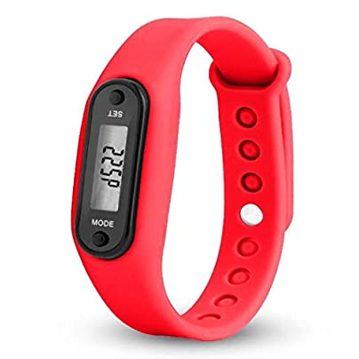 Kaimus Fitness Wristband Fitness Tracker Heart Rate Monitor Pedometer Calorie Counter Watch SmartBand Sports Watch Colours Estimated Price £4.60 -