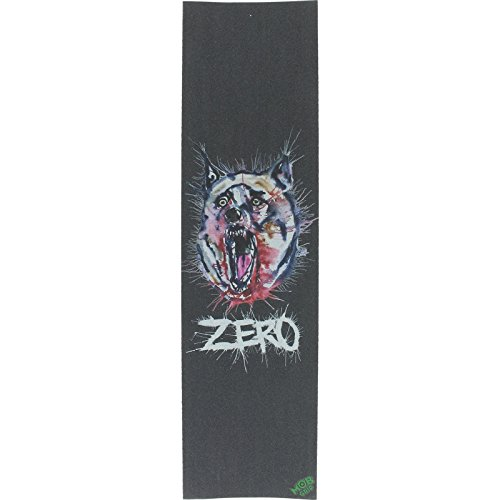 Zero/Mob Blown Ink Black Grip Tape - 9x33 by Zero
