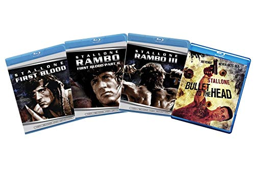 Sylvester Stallone 4-Film Blu-ray Collection: First Blood / Rambo: First Blood Part II / Rambo III / Bullet to the Head [Bluray]