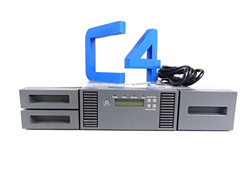 HP MSL2024 Tape Library CTO Chasis 0 Drive AK379A by HP