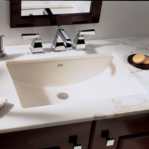 American Standard 0614.000.020 Studio Undercounter Bathroom Sink, White by American Standard