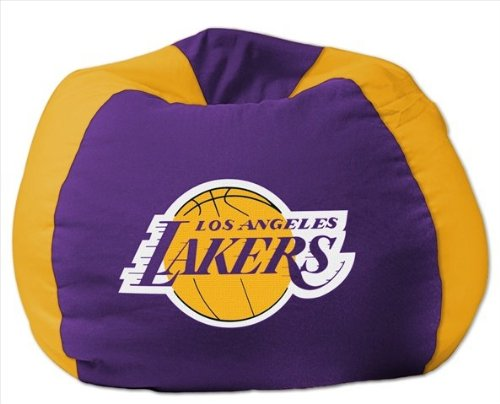 NBA Bean Bag Chair NBA Team: Lakers by Northwest Enterprises
