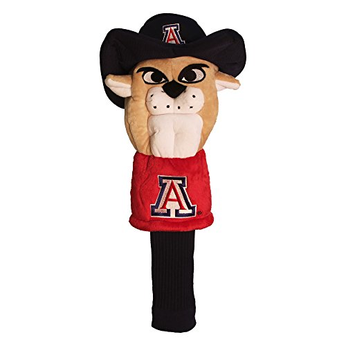 Team Golf NCAA Arizona Wildcats Mascot Golf Club Headcover, Fits most Oversized Drivers, Extra Long Sock for Shaft Protection, Officially Licensed Product