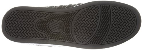 K-Swiss - Zapatillas de cuero para hombre negro negro negro - negro