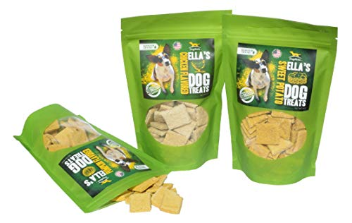 Ella's Diabetic Dog Treats New Triple Pack 24 oz