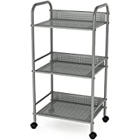 dar Living 3-Tier Cart, Moon Mist