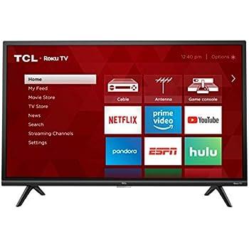 Amazon.com: TCL 32S325 32 Inch 720p Roku Smart LED TV (2019 ...