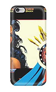 Hot 7123180K53788171 Hot Case Cover Protector For Iphone 6 Plus- Wonder Woman