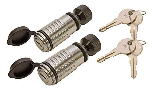 Lock Spare Tire Bolt - CT Johnson Deadbolt Spare Tire Wheel Lock - 2-Pack Keyed Alike (STL-100-KA2) - Made in U.S.A.