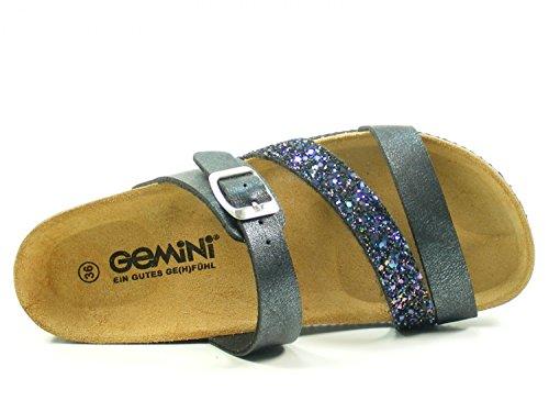 Bios Donna Schwarz 008421 Gemini Zoccoli Pq74twxt5
