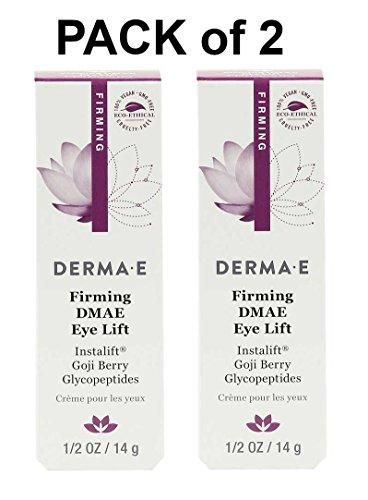((Pack of 2) DERMA•E Firming DMAE Eye Lift 0.5 oz (14 g) , Derma-e, DERMA E )