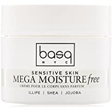 Basq Mega Moisture Free Cream, Fragrance Free, 5.5 Ounce