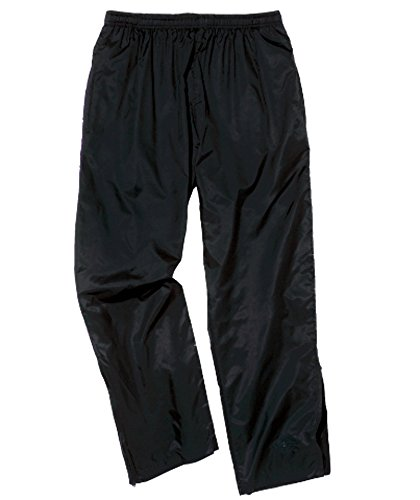 Mesh Lined Wind Pants (Charles River Apparel Pacer Pant, Black, Large)