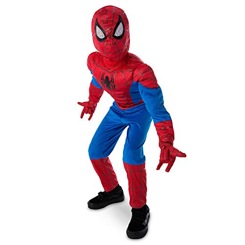 Marvel Spider-Man Ultimate Light-Up Costume for Kids Size 3 Multi -