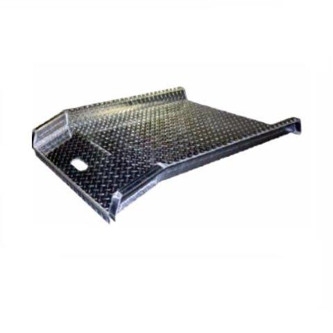 BandP Mfg. Dairy Style Aluminum Curb Ramp 800# Cap 30
