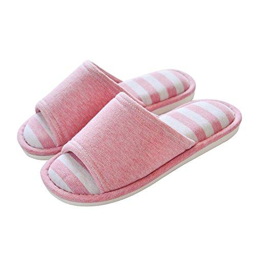 antiskid cotton slippers 40 Pink floor Indoor 39 Taq7UZvxw
