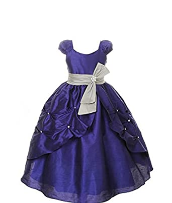 d9b746c8d0 Pink Wings Girls Party Wear Gown: Amazon.in: Clothing & Accessories