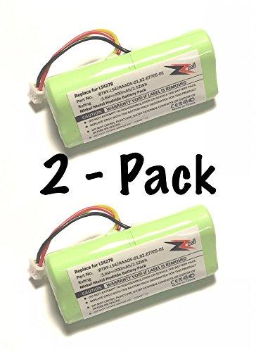 2 Pack Scanner Battery Motorola BTRY LS42RAAOE 01 product image