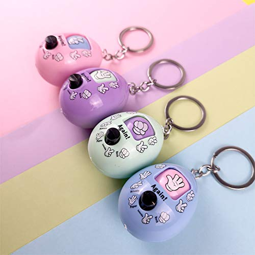 DishyKooker 1PC Cute Cartoon Capsule Toy Finger-guessing Game Stress Reliever Random - Capsule Stress Reliever