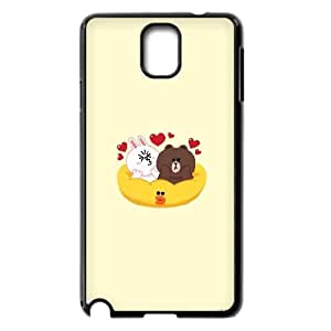 Printed Phone Case BROWN BEAR For Samsung Galaxy Note 3 N7200 S1T3582