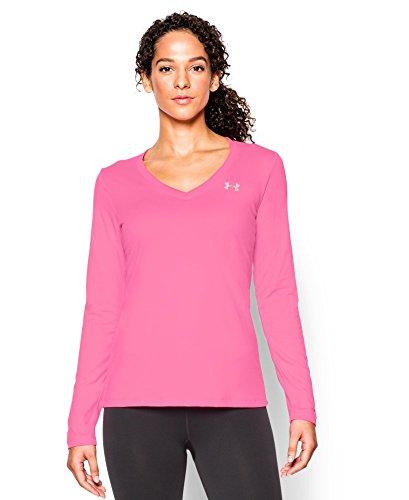 Under Armour Women's Tech Long Sleeve, Pink Punk (640), Medium