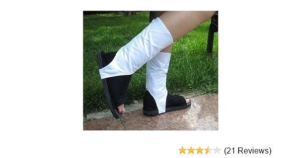 Naruto Cosplay Shoes Akatsuki Ninja Costume Shoes Boots Size M 24.5~25.5cm (Japan Import)