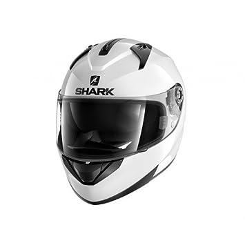 Shark casco de moto ridill, color blanco, talla XS