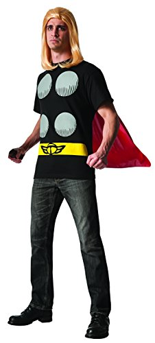 Rubie's Men's Marvel Universe Thor Adult Costume T-Shirt and Cape, Multi, X-Large - http://coolthings.us