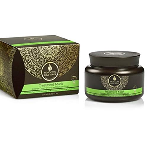Moroccan Gold Series Treatment Mask (for dry & damaged hair) 8.45 Oz.