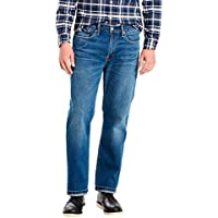 Calça Jeans Levis Masculina 514 Straight Indigo Azul Média