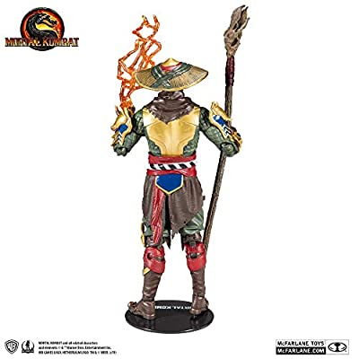 McFarlane Toys Mortal Kombat Raiden Action Figure: Toys & Games