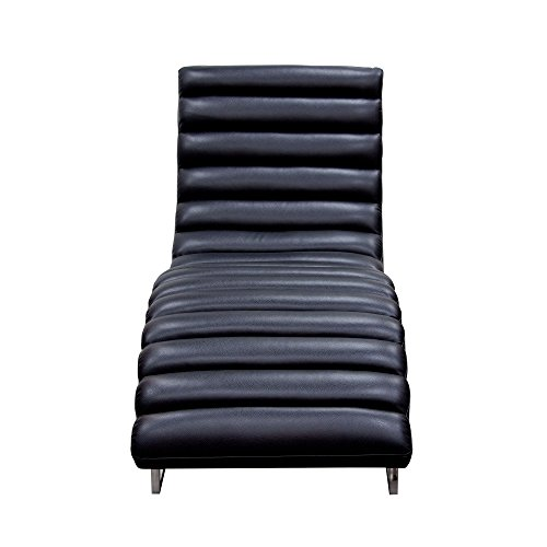 Chaise Lounge in Black