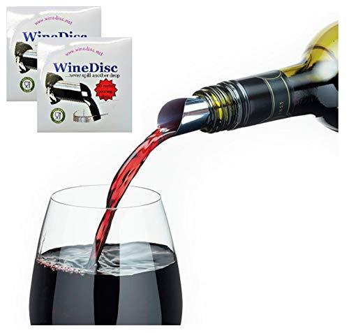 The Original Wine Disc - Drop Stopping Pour Spout (20)