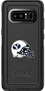 Brigham Young University Helmet design on Black OtterBox Commuter Series Case for Samsung Galaxy Note 8