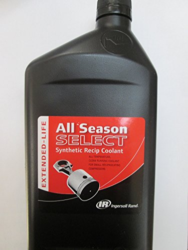 Ingersoll Rand 38436721 All Season Select Synthetic Lubricant, 1 (Ingersoll Rand Compressor Parts)