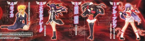 Gashapon Moe la mode machine god Kishin Houkou Demonbane normal set of 4 (with four books mini book)