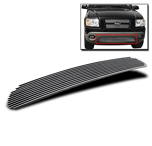 (ZMAUTOPARTS Bumper Billet Grille Grill Insert For 2001-2005 Ford Explorer Sport Trac)