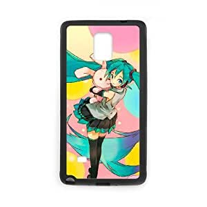 Generic for Samsung Galaxy Note 4 Cell Phone Case Black vocaloid Custom HKADSGHGO2029