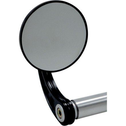 Joker Machine Round Bar End Mirror (3-1/4